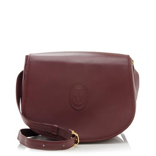 Cartier-Vintage-Leather-Must-de-Cartier-Crossbody -Bag 73699 front large 0.jpg 963d00a791