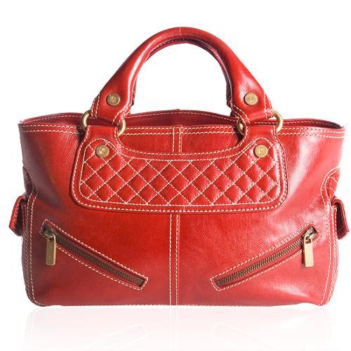 Celine Biker Boogie Satchel Handbag