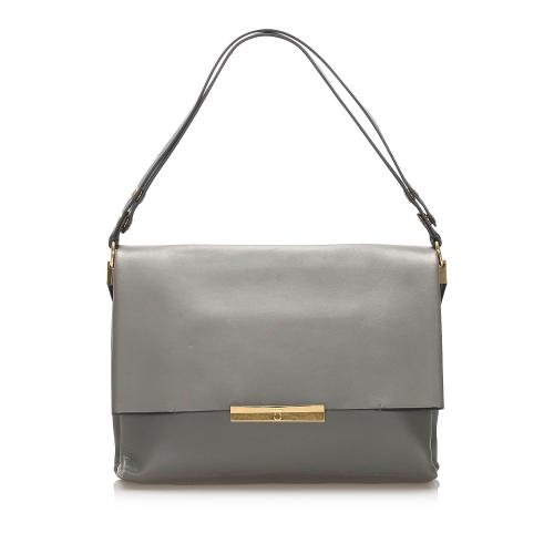 Celine Blade Leather Shoulder Bag