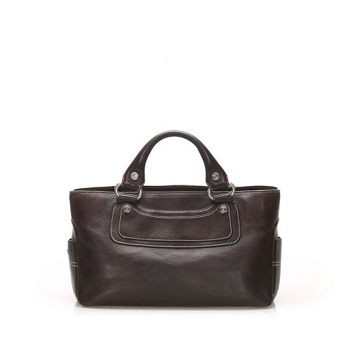 Celine Boogie Leather Handbag