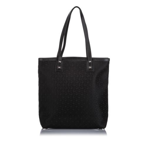 Celine C Macadam Canvas Tote Bag
