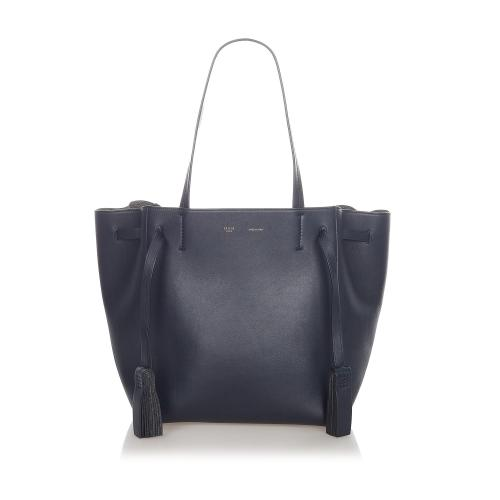 Celine Cabas Phantom Leather Tote Bag