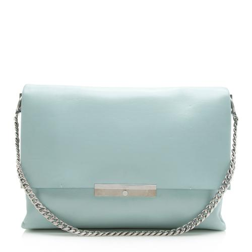 Celine Calfskin Blade Shoulder Bag