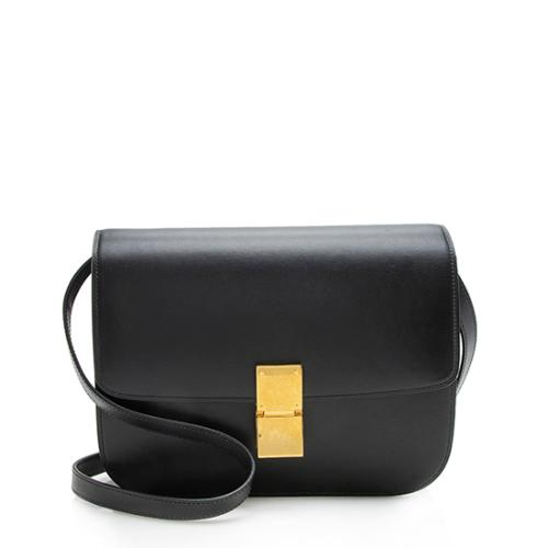 Celine Calfskin Classic Medium Box Bag