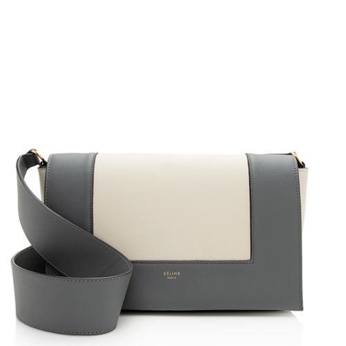 Celine Calfskin Frame Medium Shoulder Bag
