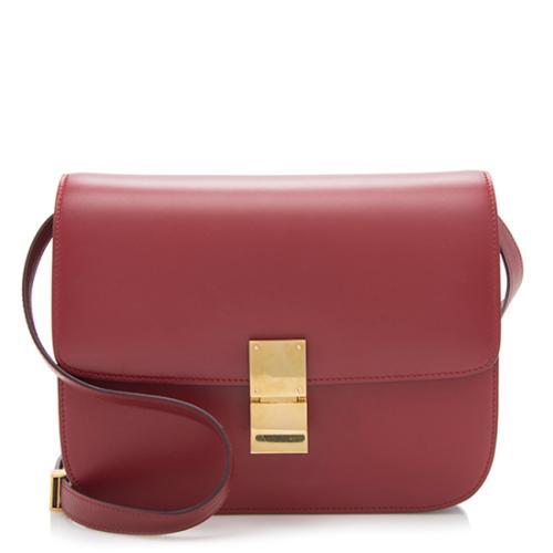 Celine Calfskin Classic Medium Box Bag
