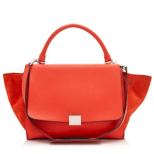 Celine Calfskin Trapeze Medium Bag