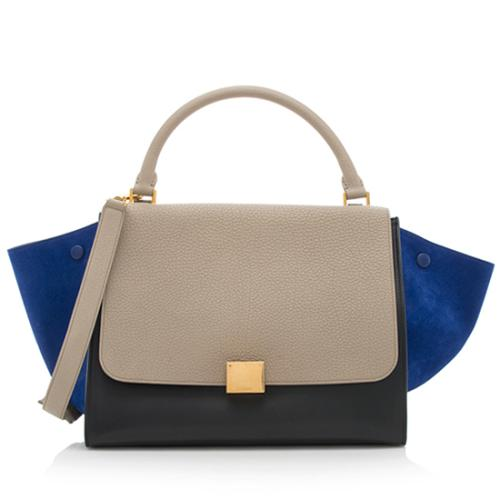 Celine Calfskin Medium Trapeze Bag