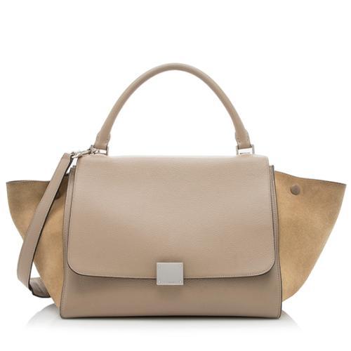 Celine Calfskin Medium Trapeze Bag - FINAL SALE