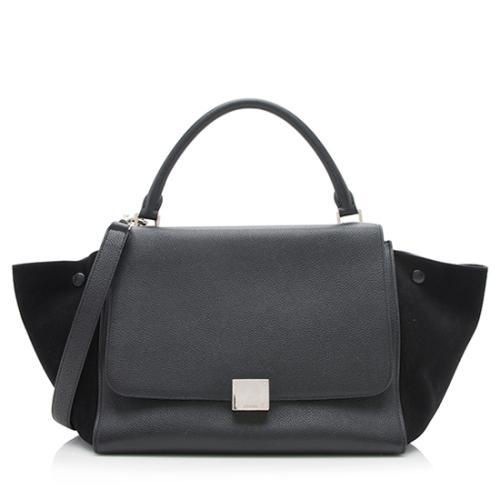 Celine Calfskin Medium Trapeze Bag