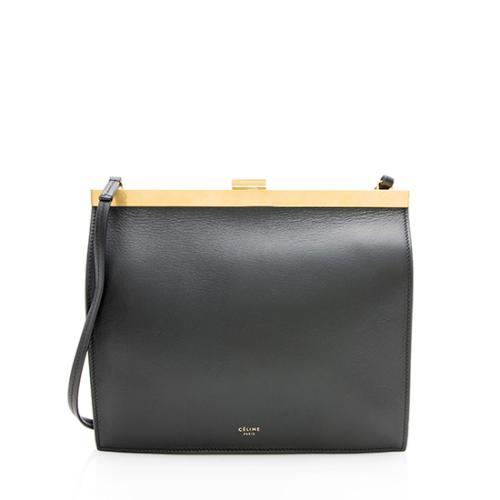 Celine Calfskin Mini Clasp Bag