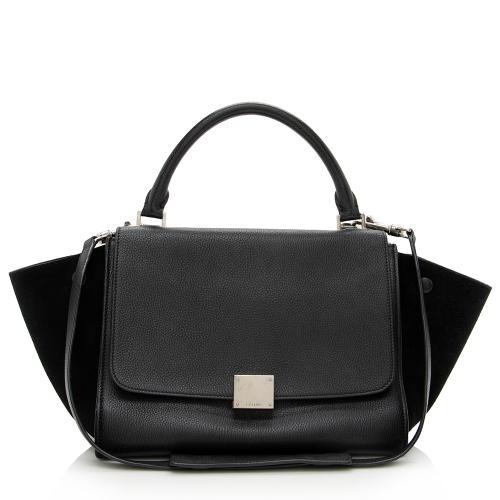 Celine Calfskin Small Trapeze Bag