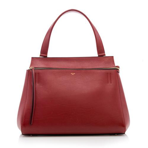 Celine-Edge-Palmelato-Leather-Medium-Edge-Tote 81039 front large 0.jpg 9c07d706a0