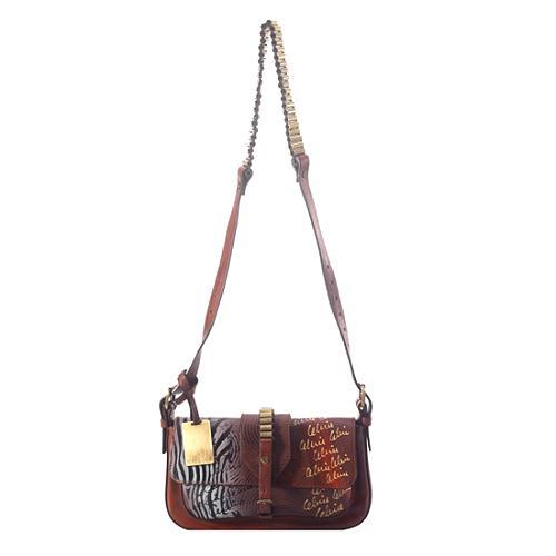 Celine Grafitti Bullet Shoulder Handbag