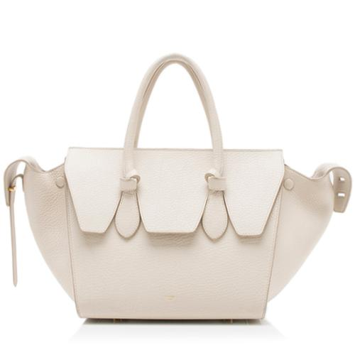 Celine Grained Calfskin Mini Tie Tote