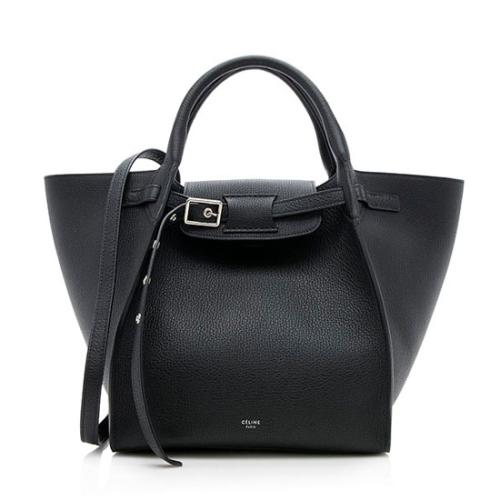 Celine Grained Leather Small Big Tote