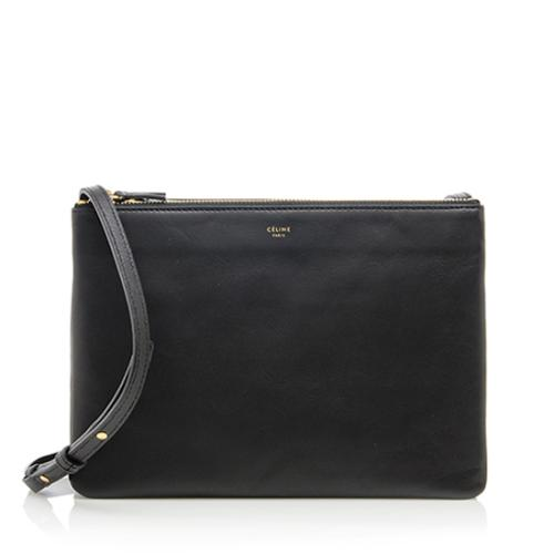 92424d5dd Celine Lambskin Large Trio Crossbody Bag