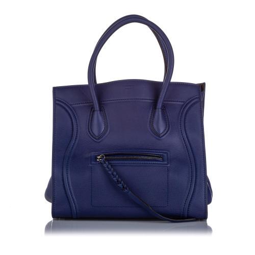 Celine Leather Phantom Luggage Tote