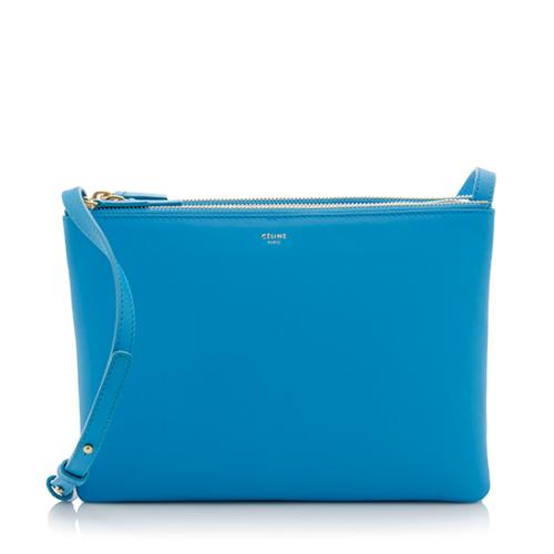 Celine Lambskin Large Trio Crossbody Bag - FINAL SALE