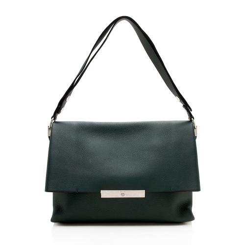 Celine Leather Blade Shoulder Bag