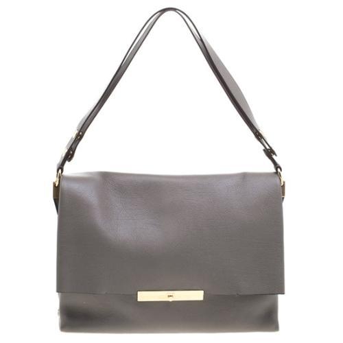 Celine Calfskin Blade Shoulder Bag