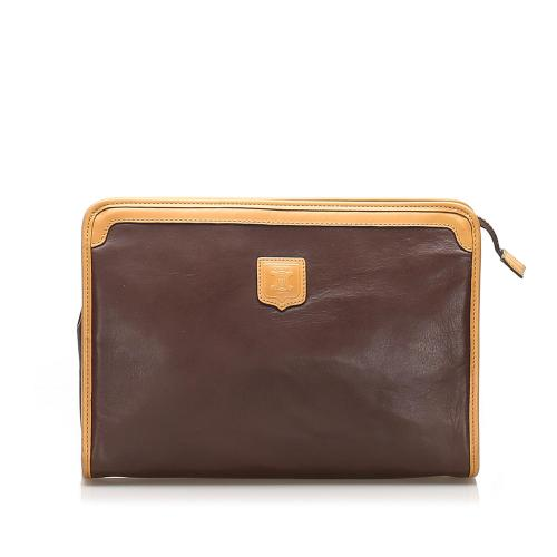 Celine Leather Clutch Bag