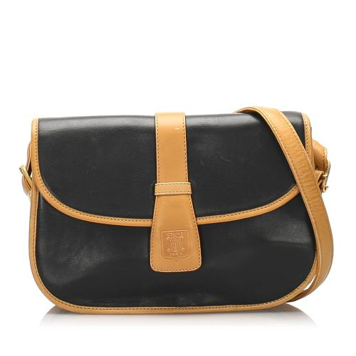 Celine Leather Crossbody Bag