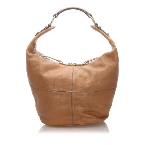 Celine Leather Hobo