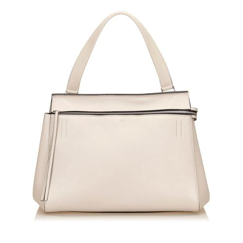 Celine Leather Large Edge Tote