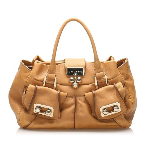 Celine Leather Satchel