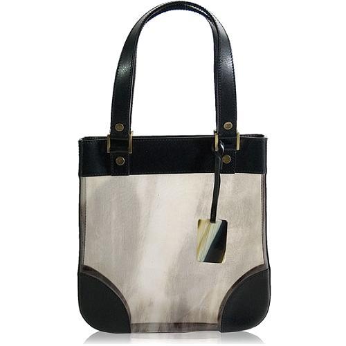 Celine Leather Shoulder Handbag