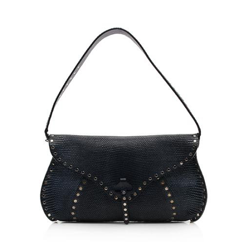 Celine Lizard Studded Shoulder Bag