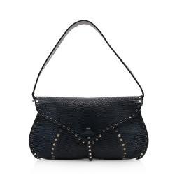 Celine Lizard Studded Shoulder Bag
