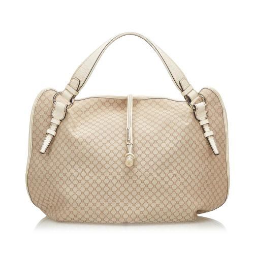 Celine Macadam Bittersweet Canvas Handbag