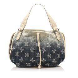 Celine Macadam Bittersweet Denim Handbag