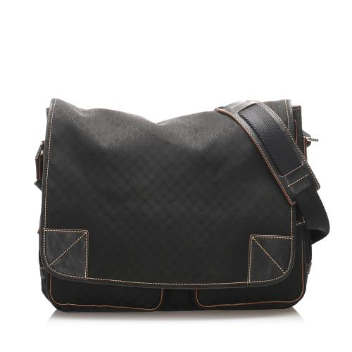 Celine Macadam Canvas Messenger Bag