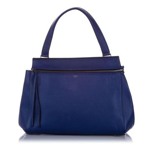 Celine Leather Medium Edge Tote