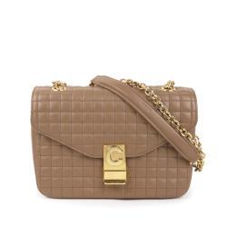 Celine Quilted Leather Medium C Bag