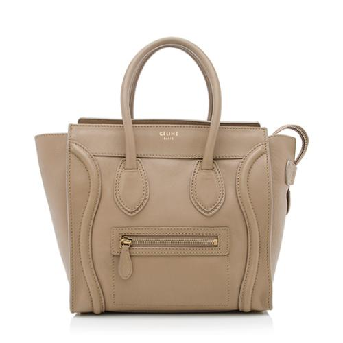 Celine Calfskin Micro Luggage Tote - FINAL SALE
