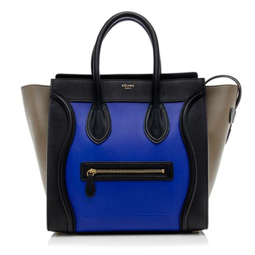 Celine Leather Mini Luggage Tote