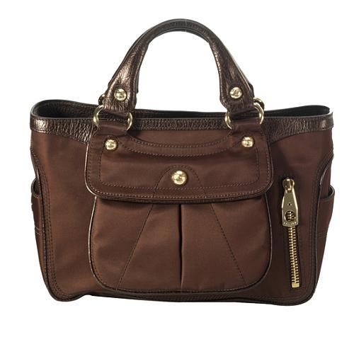 Celine Nylon Boogie Bag Satchel Handbag
