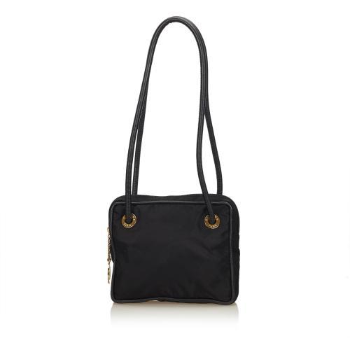 Celine Nylon Shoulder Bag