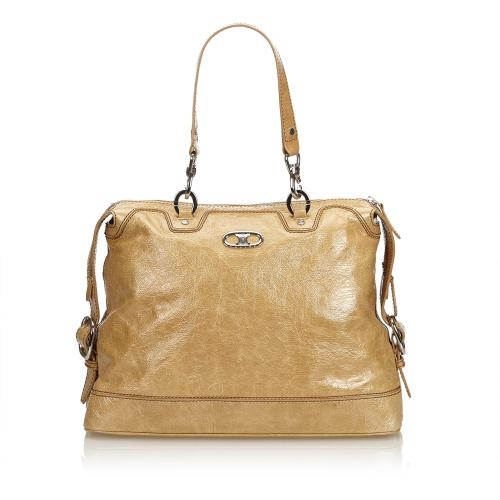 Celine Patent Leather Satchel
