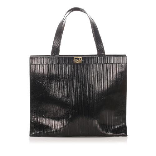 Celine Patent Leather Satchel