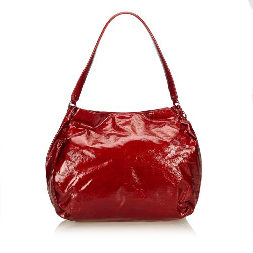 Celine Patent Leather Shoulder Bag