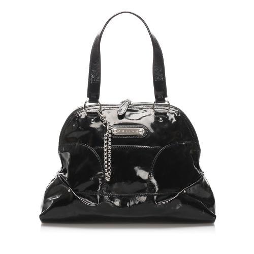 Celine Patent Leather Shoulder Bag
