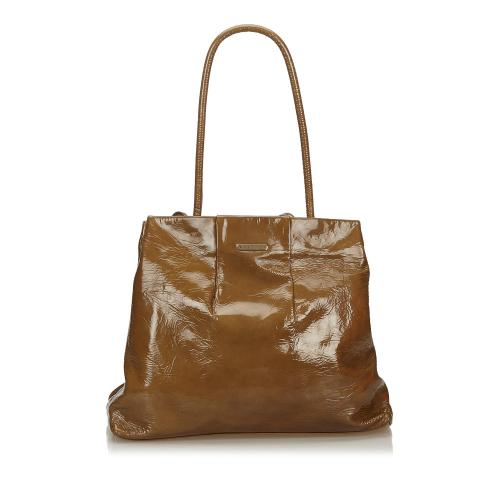 Celine Patent Leather Tote
