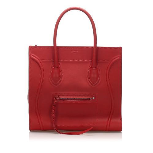 Celine Phantom Leather Handbag