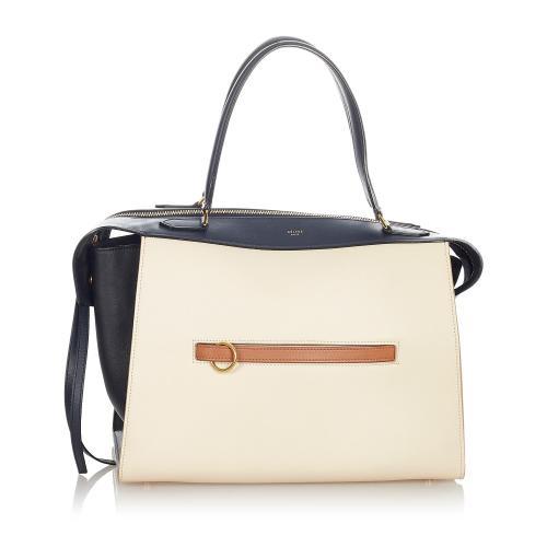 Celine Ring Leather Handbag