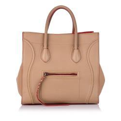 Celine Small Phantom Leather Tote Bag